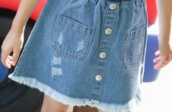 Джинсовые юбки оптом мода детки