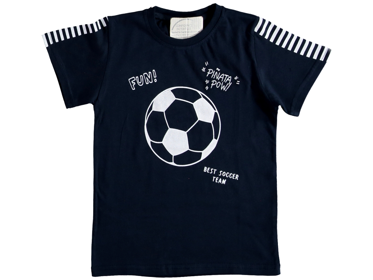 Футболка темно-синий 3/7 лет 324686